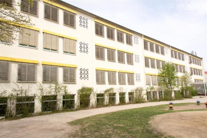 Bild: Außenansicht der Grundschule