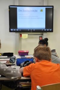Unterricht mit der digitalen Tafel
