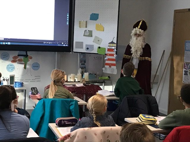 Besuch vom Nikolaus im Dezember 2020